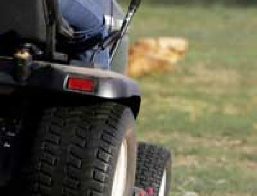 Tractor Mower Safety