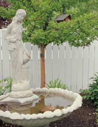 Safety of Garden Ornaments and Statues