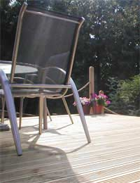 Cleaning Decking Safely